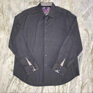 ROBERT GRAHAM Cullen Long Sleeve Button Down XL